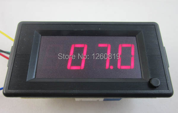 Digital Amp Meter Panel : 2 in 1 digital dc 200v voltmeter 100a ampmeter red led display