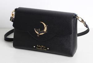 Image 1 - 1 piece metal cat moon logo anime sailor moon luna Envelope message Shoulder bag day clutch  tote bag