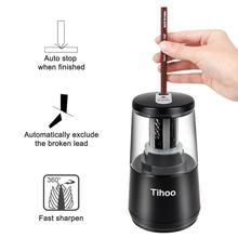 Andstal Multifunction Electric Pencil Sharpener Dual Power Automatic Sharpeners machine usb For kids School knife Cutter fancy