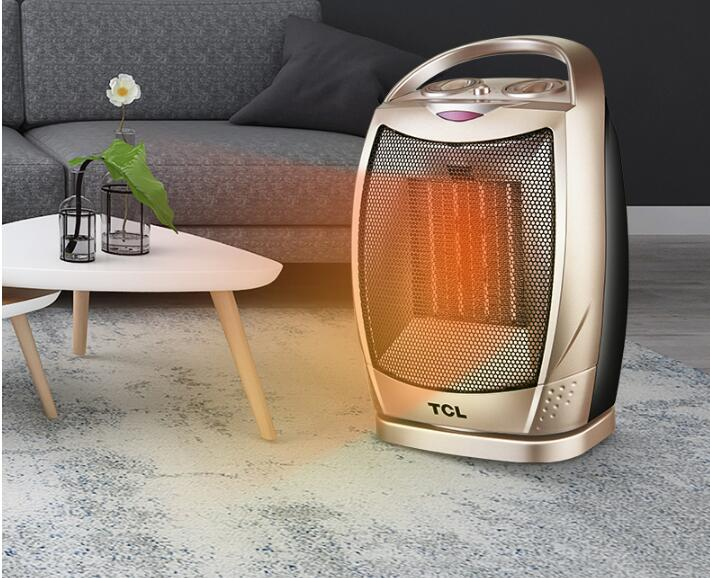 Mini PTC Ceramic Space Electric Heaters Desktop Fan Heater For Warm Winter Portable Oscillating Ceramic Heater with Thermostat minf01 10 free shipping ptc ceramic space heater electric 220v 500w warm winter mini desktop fan heater forced home