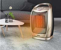 Mini PTC Ceramic Space Electric Heaters Desktop Fan Heater For Warm Winter Portable Oscillating Ceramic Heater with Thermostat