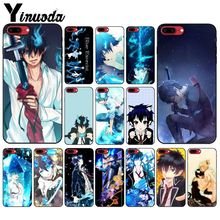 Yinuoda Blue Exorcist Anime Coque Shell Phone Case for iPhone 6S 6plus 7 7plus 8 8Plus X Xs MAX 5 5S XR
