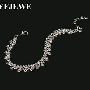 2017 JEWELS Silver plated Bracelet for Women with 3 Pieces Genuine Charm Bracelets Party Jewelry B098