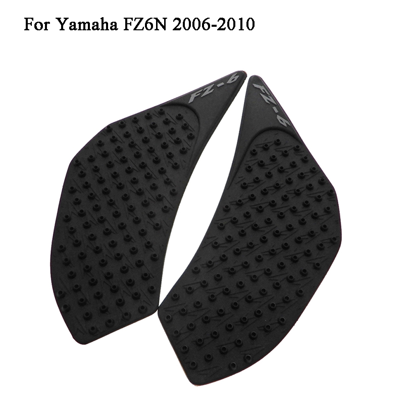 Mtimport Fz6 N Anti Slip Tank Pad Side Gas Knee Grip Traction Pads Sticker Decals For Yamaha Fz6n 2006 2007 2008 2009 2010 Automobiles & Motorcycles
