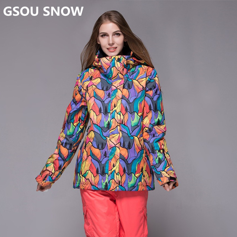 Здесь продается  Gsou Snow Brand 10K new ski wear women