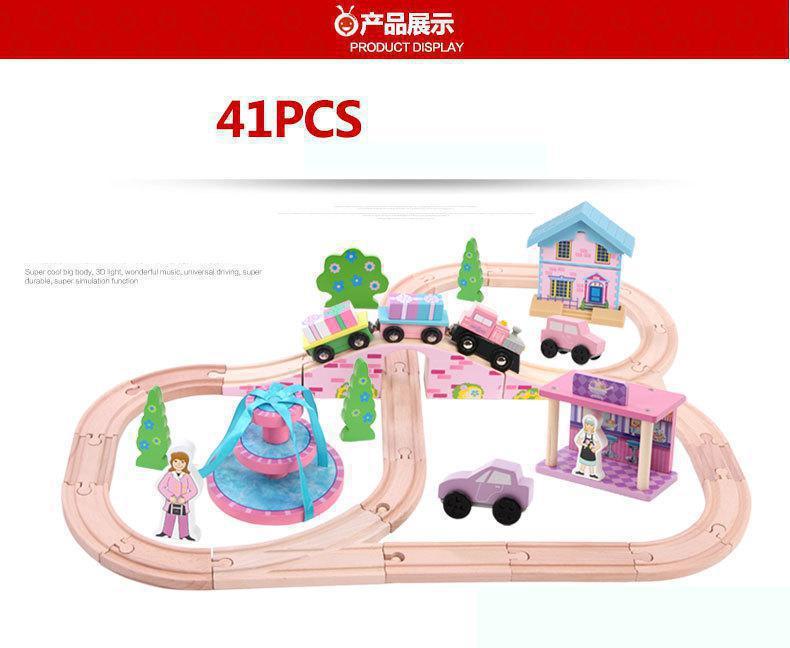 Onshine 41 Pcs Sxr Kids Toys Thomas Train Toy Model Cars