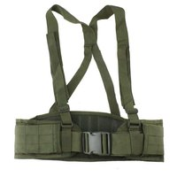 Camouflage Padded Molle Nylon Tactical Belt Military Strap Waist Belts Adjustable Security For Hunting Accessories Equipment