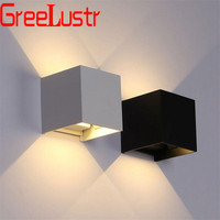 12W Waterproof IP65 Wall Lamps Outdoor Indoor Wall Sconces Up and Down Led Porch Garden Lights Wall Light fixtures Lamp