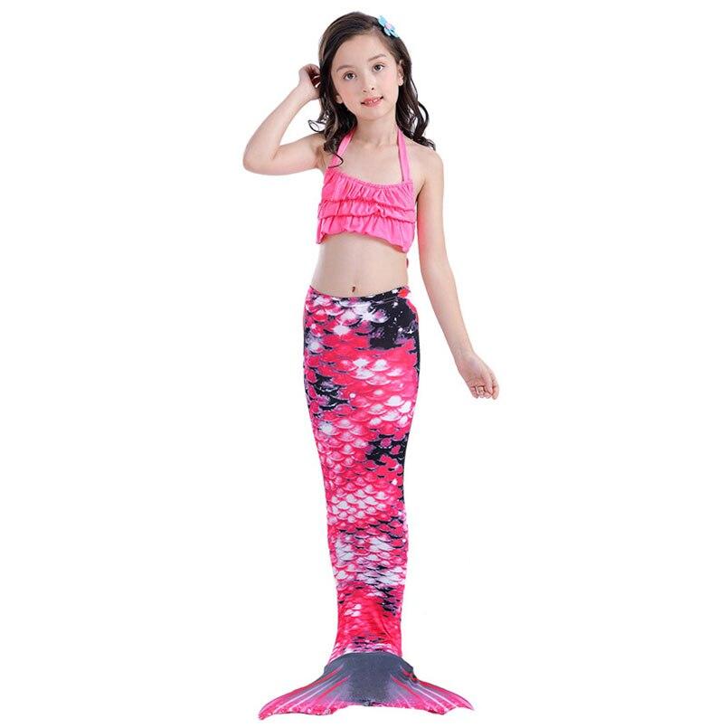 girls mermaidl tail rose 5