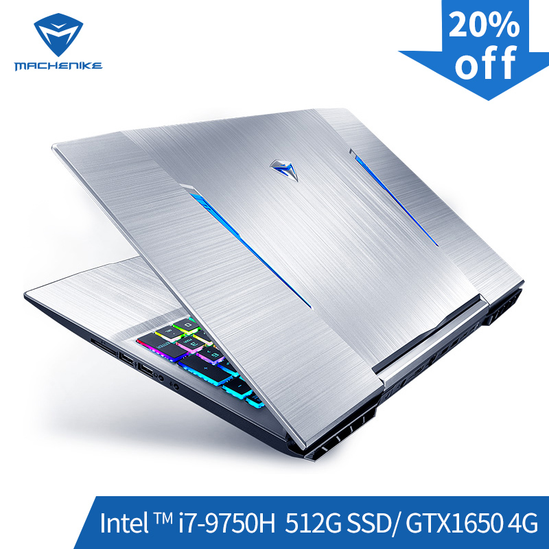 Machenike T90-TB1 Gaming Laptop (Intel Core I7-9750H+GTX 1650/8GB RAM/512G SSD/15.6'' ) Machenike-brande Notebook(China)