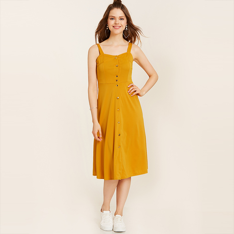 Online Get Cheap Yellow Summer Dress -Aliexpress.com | Alibaba Group