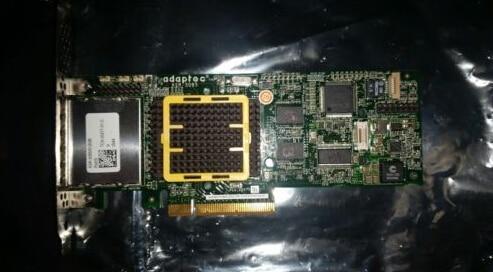 ASR-5085 Dual Channel External SAS/SATA RAID Controller PCI-E x8  3 Gb/S Original 95%New Well Tested Working One Year Warranty