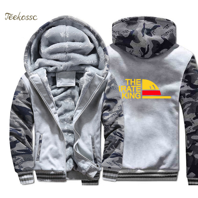 One Piece HoodieThick High Quality Jacket