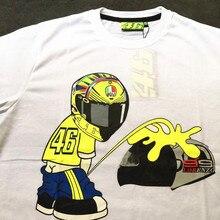012f77d3d8f9 VR46 Valentino Rossi T-Shirt Moto GP Motorcycle Racing 46 T shirt Moto  Racing Jersey
