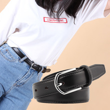 Fashion jeans belt dress wild new personality pin buckle wide fashion hipster