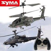 Livraison Gratuite SYMA S109G RC Hélicoptère avec GYRO 2.4G 3CH Anti-Choc Coloré Clignotant Lumière RC Jouet Électronique jouets RC DRONE