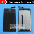 High Quality New Touch Screen and LCD Display Digitizer Assembly TP For Asus zenfone 5 A500CG T00J T00F smart phone Black Color