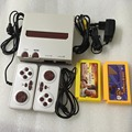 New 8bit 60pin Video game console with two controllers Family TV Game Built-in 88 Classic Games Free 400 In1+208 In1 Game Card