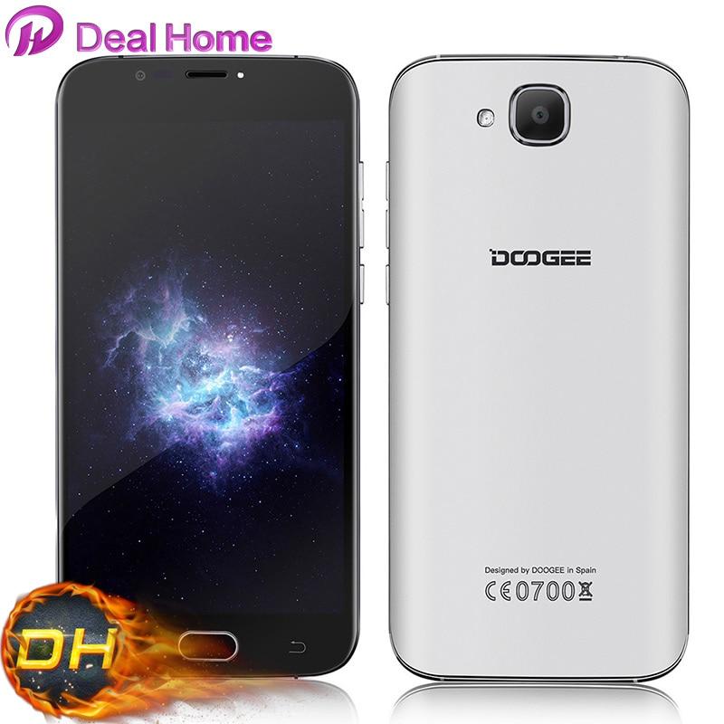 Цена за Новый DOOGEE X9 Pro/Мини Смартфон Android 6.0 MTK6737 2 ГБ + 16 ГБ 8MP ОТА OTG 3000 мАч 5.5 Дюймов HD Отпечатков Пальцев ID Мобильный Телефон