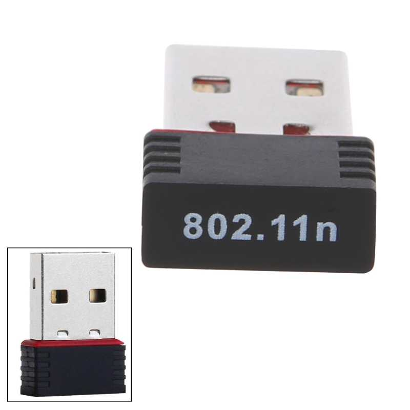 150 Mbps USB 2.0 WiFi Adaptador Wireless LAN Placa de Rede 802.11 ngb Ralink MT7601