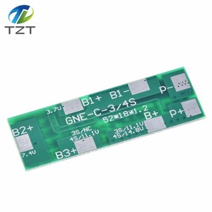 Image 3 - 4S 8A Polymer Li ion Lithium Battery Charger Protection Board For 4 Serial 4pcs 3.7 Li ion Charging Protect Module BMS