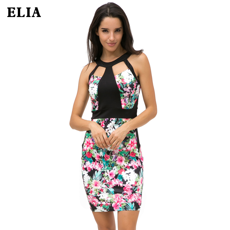 Womens Elegant Vintage Floral Print Casual Work Office Party Evening Sheath Bodycon Pencil Dress Off Shouder Dress 8681