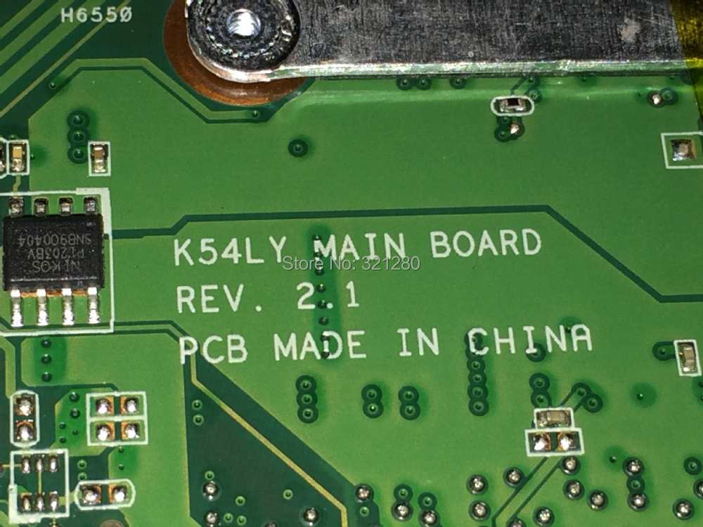 FREE SHIPPING New laptop Motherboard K54LY REV : 2.1 For Asus K54LY X54H laptop Motherboard