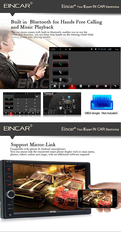 Top 2Din Head Unit Android 5.1.1 GPS radio Car Stereo Auto Radio Audio 1080P Video Player Wifi FM Steering Wheel Control+rear Camera 1