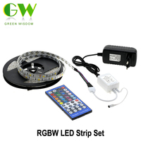 5050 RGBW LED Strip 5m 2 4G Touch Controller DC12V 60LED M RGBW RGBWW Flexible LED