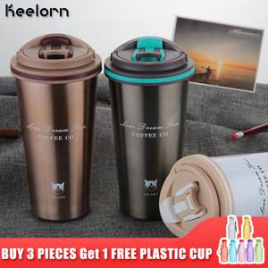 Keelorn Coffee Cup Stainless Steel vacuum flasks Thermo mug