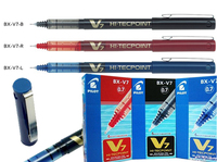 3pcs Lot Japan Pilot V7 Liquid Ink Pen 0 5mm 7 Colors To Choose BX V7