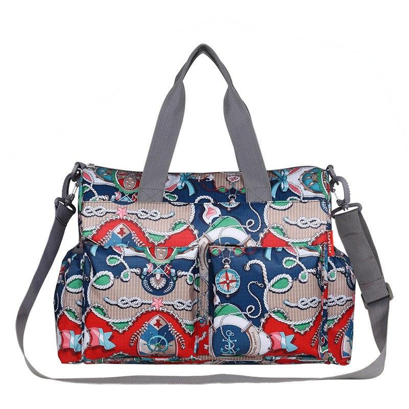 High Capacity Diaper Bag Nappy Nursing Travel Backpack Expectant Pregnant Women Bag Isolation Pad Insulation Bottle Bag Wet Bag