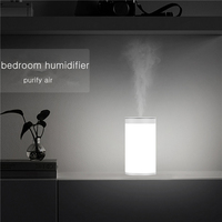 450ML Large Capacity USB Air Humidifier with Stepless Adjusted LED Light Home Aroma Essential Oil Diffuser Ultrasonic Humidifier