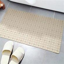 Сетчатый Дизайн ПВХ нескользящий коврик для ванной комнаты мульти присоски Мягкий впитывающий коврик 40x70 см ванна коврик для душа безопасный коврик для ванной