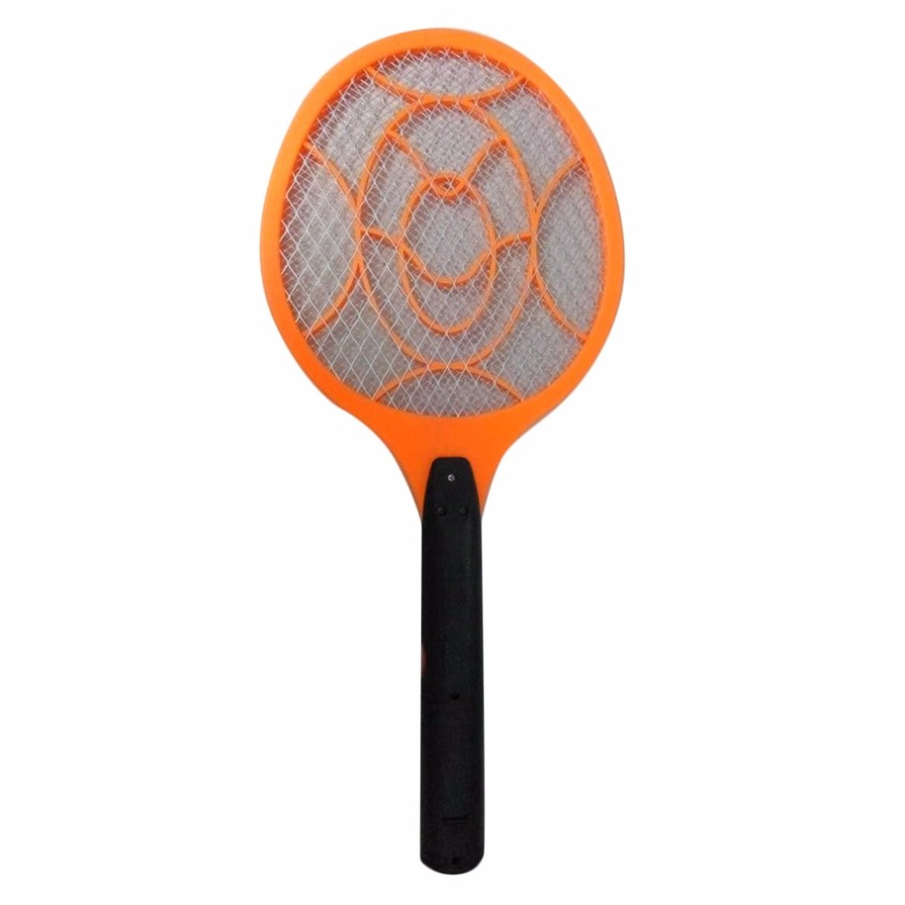 Electronic Mosquito Swatter Dry Cell Power Energy Saving Mosquito Killer Bat Plastic Hand Racket Electric Swatter For Home Use