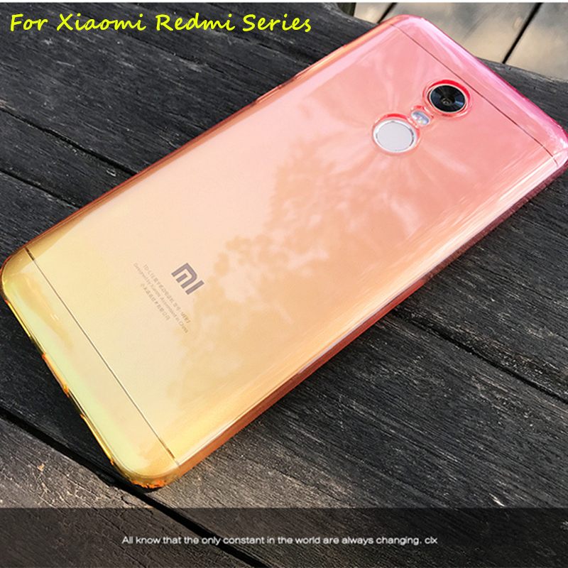 Color Cases For Xiaomi Redmi 6 6A 5 Plus 4A 4X Note 4 4x 5A Prime 6 PRO Global version A1 A2 5X 6 6X 8pro Soft Phone Cover Shell mannequin