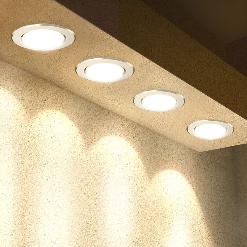LED Downlight 3W 5W 7W 9W 12W 15W 18W Round Recessed Lamp 220V 230V 240V  Led Bulb Bedroom Kitchen Indoor LED Spot Lighting(China)