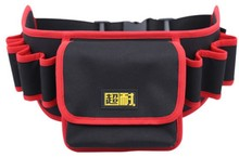 CAMMITEVER 61*15*17cm Multi-functional Electrician Tools Bag Waist Pouch Belt Wrench Screwdriver Storage Holder Organizer