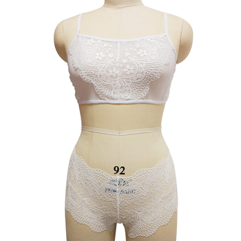 Net & Lace Bralette with Matching Hipster Brief 3