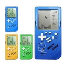 Jogo de tetris retrô, jogo de criança, jogos eletrônicos de brinquedo, educacional