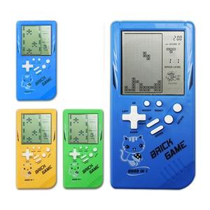 Image 1 - Retro Handheld Spiel Spieler Tetris Klassische Kindheit Spiel Elektronische Spiele Spielzeug Spiel Konsole Rätsel Pädagogisches Spielzeug Für Kind