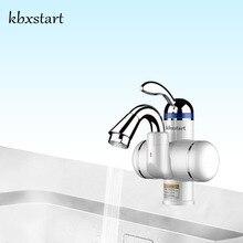 Kbxstart 超小型サイズ浴室 Banheiro 電気インスタント温水ヒータータップ 180 回転 220 12v 温水蛇口水で加熱
