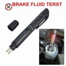 New Best Brake Fluid Tester LED Car Vehicle Auto Automotive Testing Tool fluid tester Car Brake Fluid Tester Pen in stock