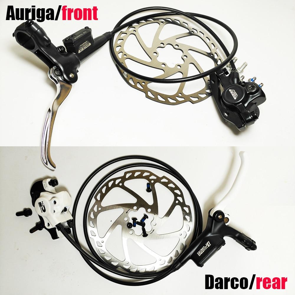 Système de frein à disque hydraulique d'origine Auriga comp Darco droit arrière gauche avant vtt bmx