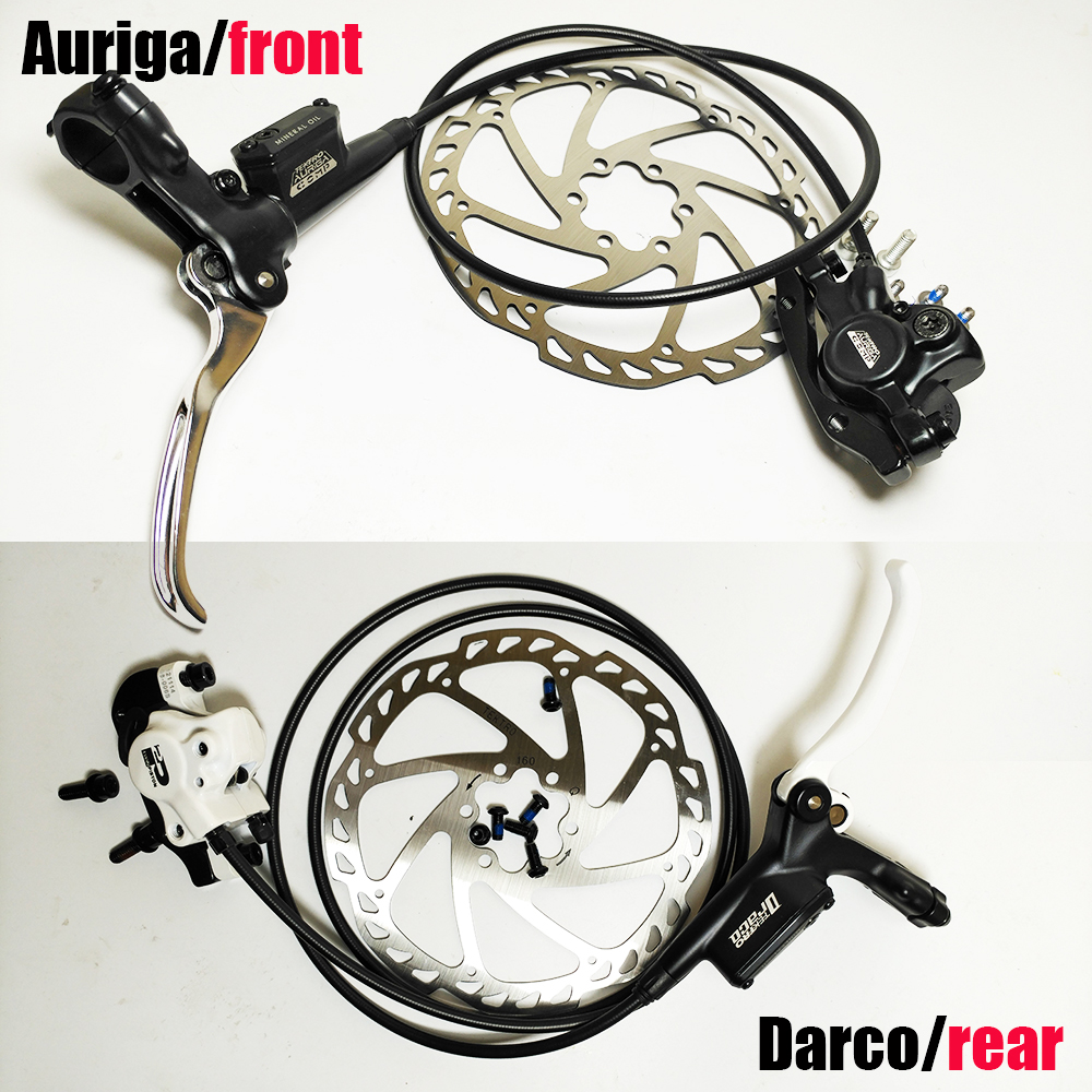 ФОТО original Auriga comp Darco right rear left front mtb bmx down hill oil hydraulic disc brake system