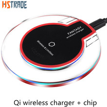 Qi Wireless Charger for SAMSUNG android iphone yota mobile phone battery charger charging universal USB kit charger transmitter