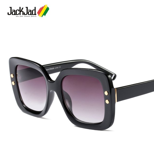 a0c80b19423 JackJad Fashion Trend Women ButterFly Style Gradient Sunglasses Two Dots  Vintage Brand Design Sun Glasses Oculos