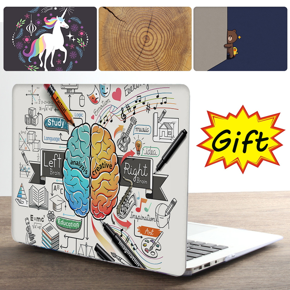 Cool Print Laptop Case For <font><b>Apple</b></font> <font><b>MacBook</b></font> Air <font><b>Pro</b></font> Retina 11 12 13 <font><b>15</b></font> for mac book New <font><b>Pro</b></font> 13 <font><b>15</b></font> inch with Touch Bar +Keypad <font><b>Cover</b></font> image