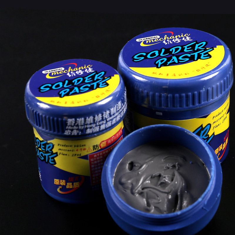 MECHANIC Solder Paste Flux For CPU A8 A9 A10 A11 Low Temperature 153 Degress Non Clean Welding Fulx BGA Welding Tools
