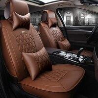 Стайлинг автокресло крышка для Land Rover Discovery 3/4 Freelander 2 Sport диапазон Спорт Evoque, высокая волокна кожи